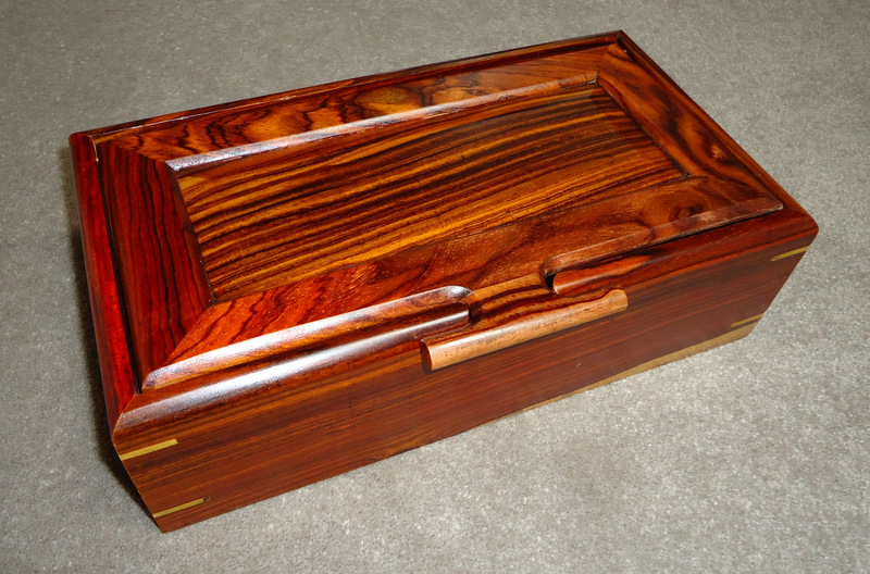 Cocobolo                   boxes from Costa Rica