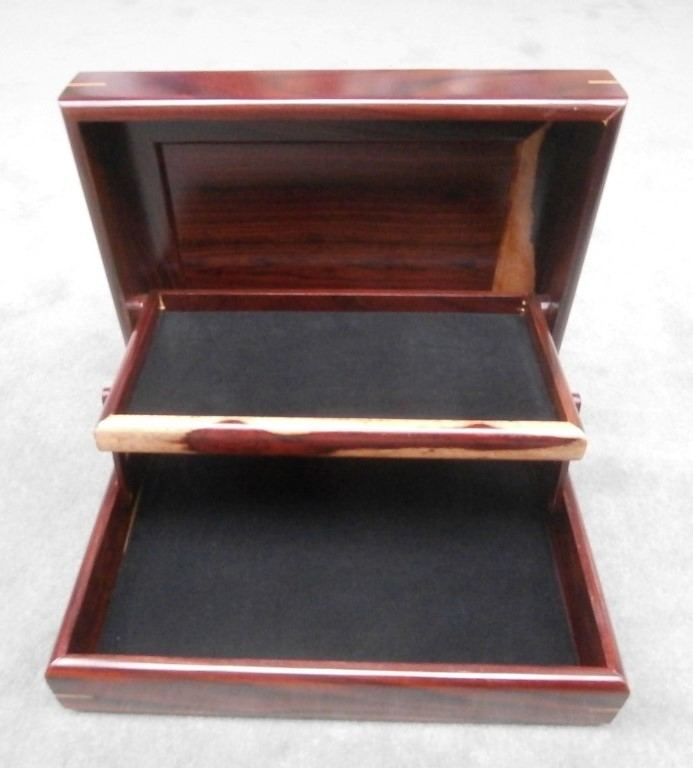 Larger two tier jewelry box