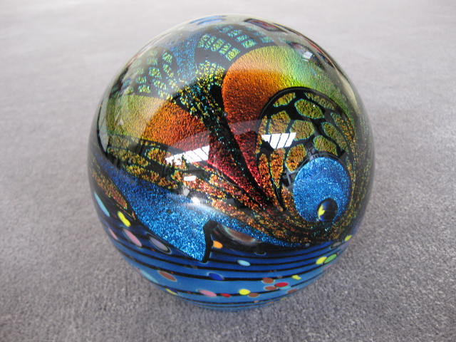 Roillin Karg                                   blown glass